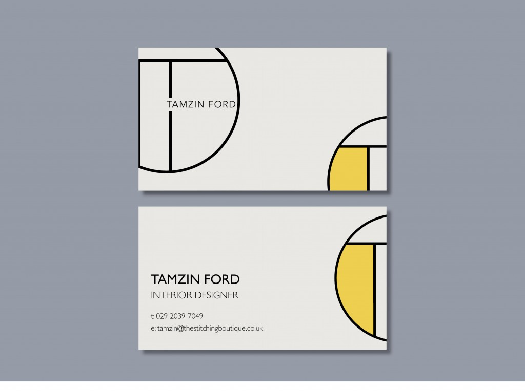 Tamzin Ford Business Card Mock up