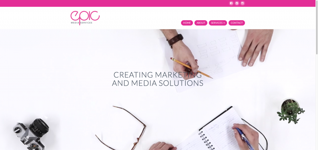 Epic Media Services Homepage