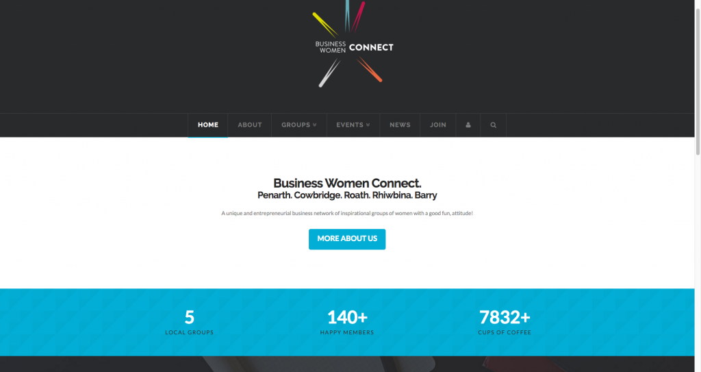 BWConnect Homepage