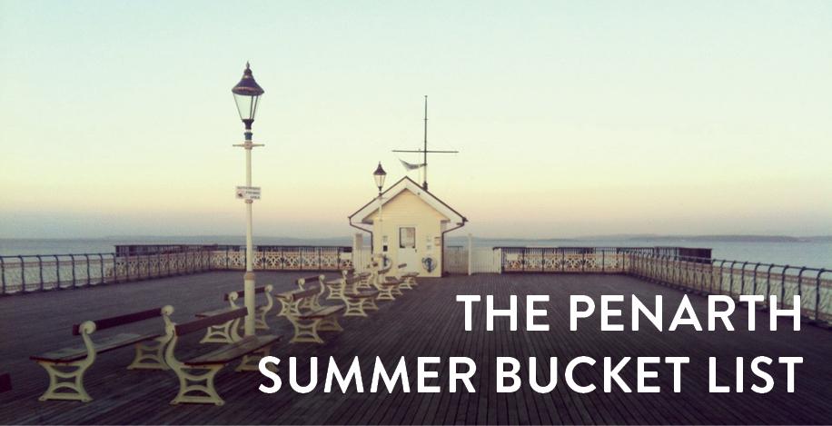 Penarth Summer Bucket List