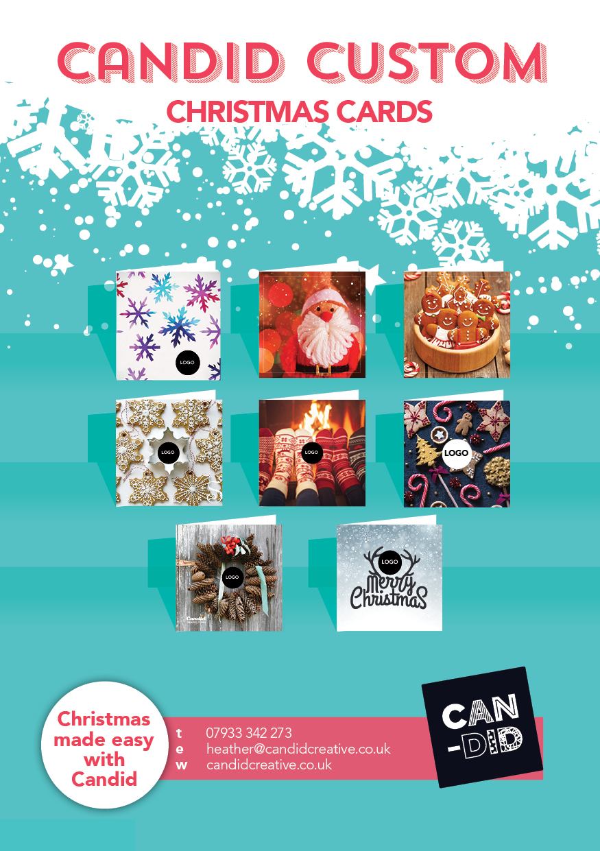 Bespoke Christmas Card Service for your business | Candid